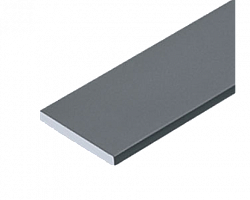 Barra chata de aluminio 2mm