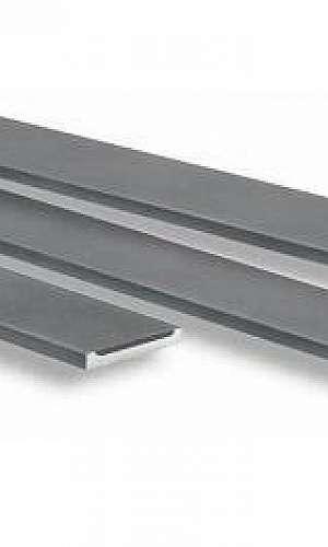 Barra chata de alumínio