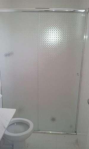 Box de banheiro alumínio branco