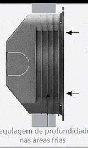Caixa retangular 4x2