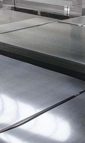 Chapa de aço galvanizado