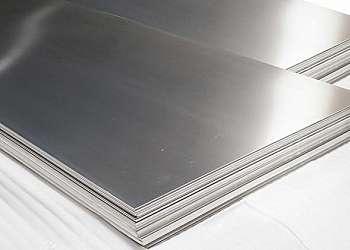 Chapa de aluminio lisa