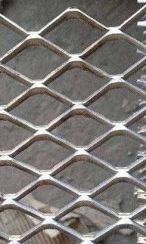 Chapa de metal expandido