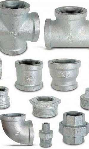 Conexões ferro galvanizado