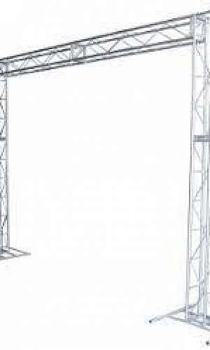 estruturas de alumínio Q15