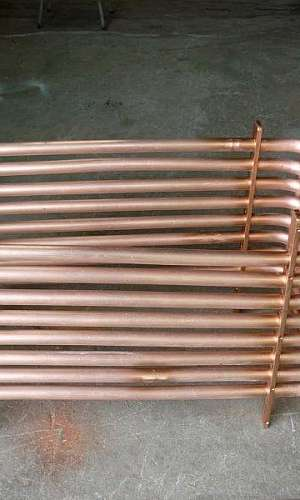 Fábrica de serpentinas de cobre