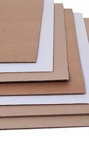 Fornecedores de chapas de papelão ondulado