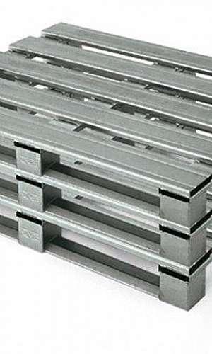 Preço de pallet de aço galvanizado