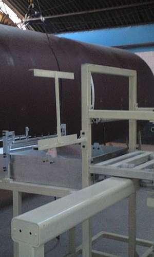 Processo de filament winding