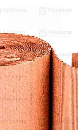 Rolo de papelão grosso