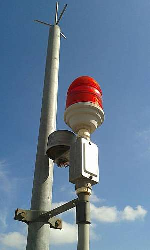 Sistema de proteção contra descargas atmosféricas SPDA