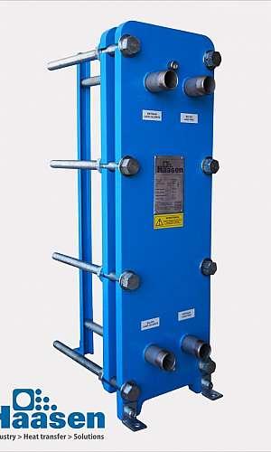 Trocador de calor industrial de 6 polegadas