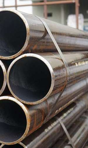 Tubo aço carbono sem costura
