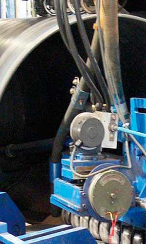 Tubo costura helicoidal