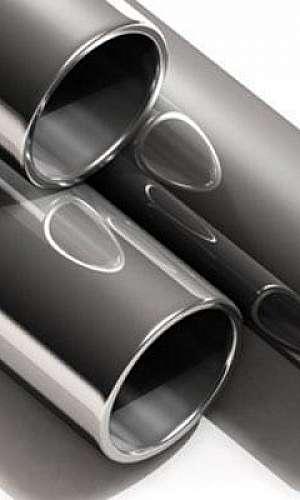 Tubo de aço carbono preto DIN 2440