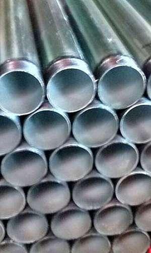 Tubo de aço galvanizado com costura