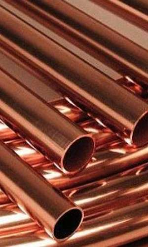 Tubo de cobre níquel