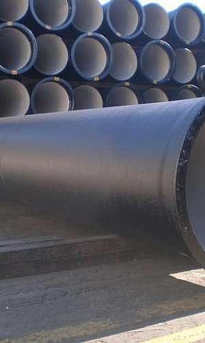 Tubo de ferro fundido para água pluvial