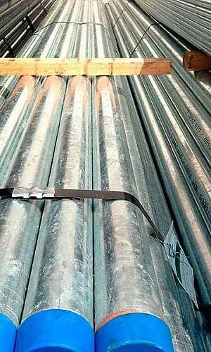 Tubo galvanizado 4 polegadas