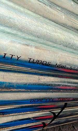 Tubo galvanizado a fogo preço