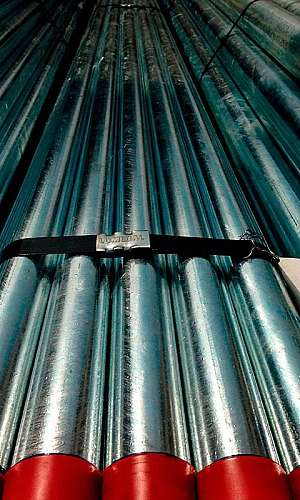 Tubo galvanizado de 1 polegada