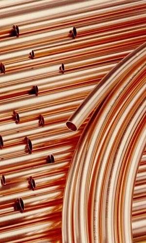 Tubos de cobre