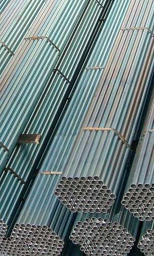 Tubos industriais galvanizados