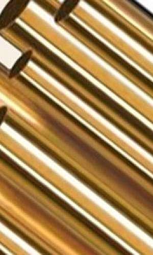 Valor tubo de latão naval
