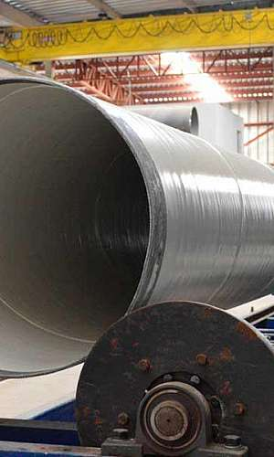 Venda de tubos de aço